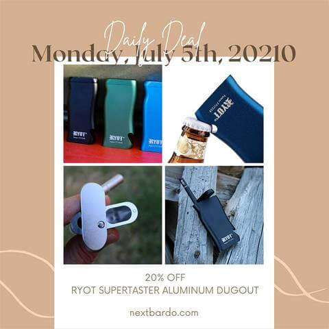 Daily Deal Monday July 5th | RYOT Aluminum Dugout 20% off