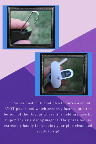 Page 3. Explanation of more features such as the built in magnetic poker tool