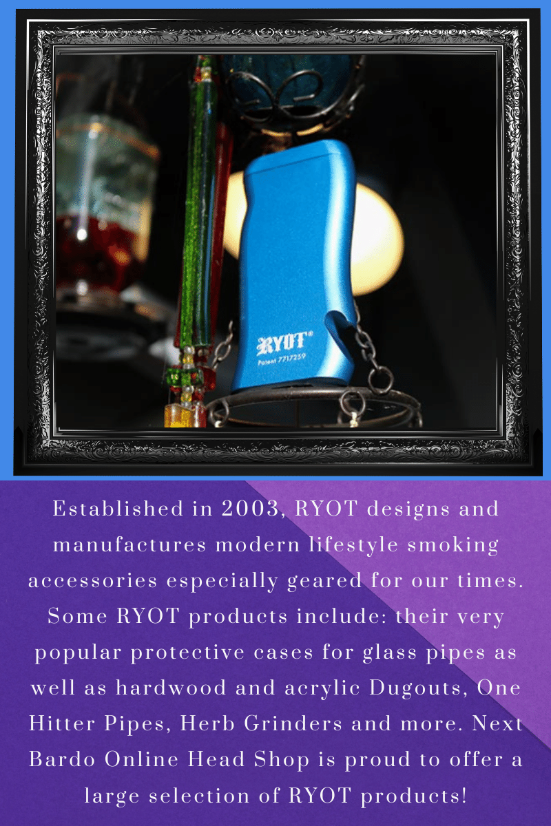 Page 7. Short bio of RYOT; The manufacturer of the Super Taster  Aluminum Dugout