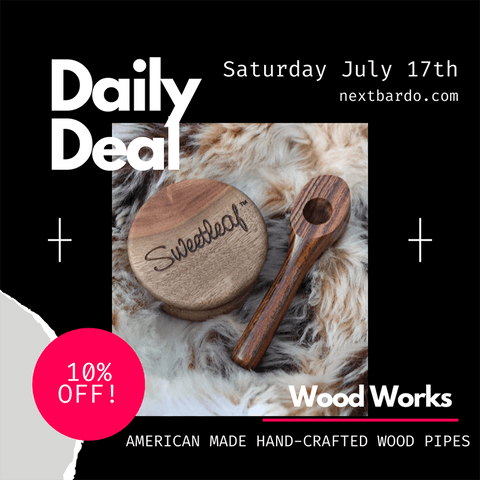 """Daily Deal Saturday July 17th   10% off of all """"Wood Works"""" products"""