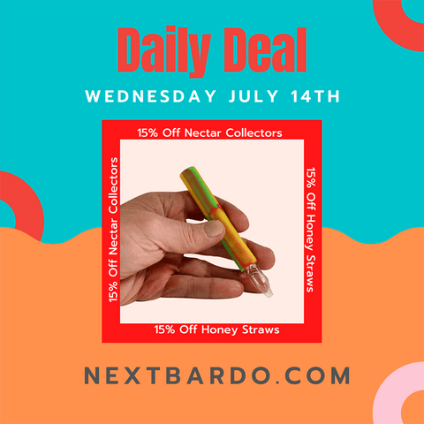 Daily Deal Wednesday July 14th - 15% off Nectar Collectors