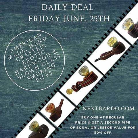 Friday June 25th Daily Deal | Mill Hybrid Smoking Pipes - Buy 1 get 1 50% off
