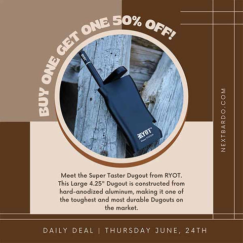 Thursday June 24th Daily Deal   RYOT Supertaster - Buy 1 get 1 50% off