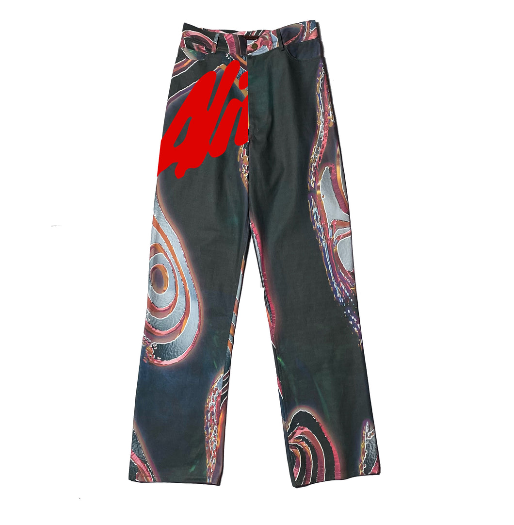 FABRIC OF THE UNIVERSE Trousers by ALIVE AND MORE