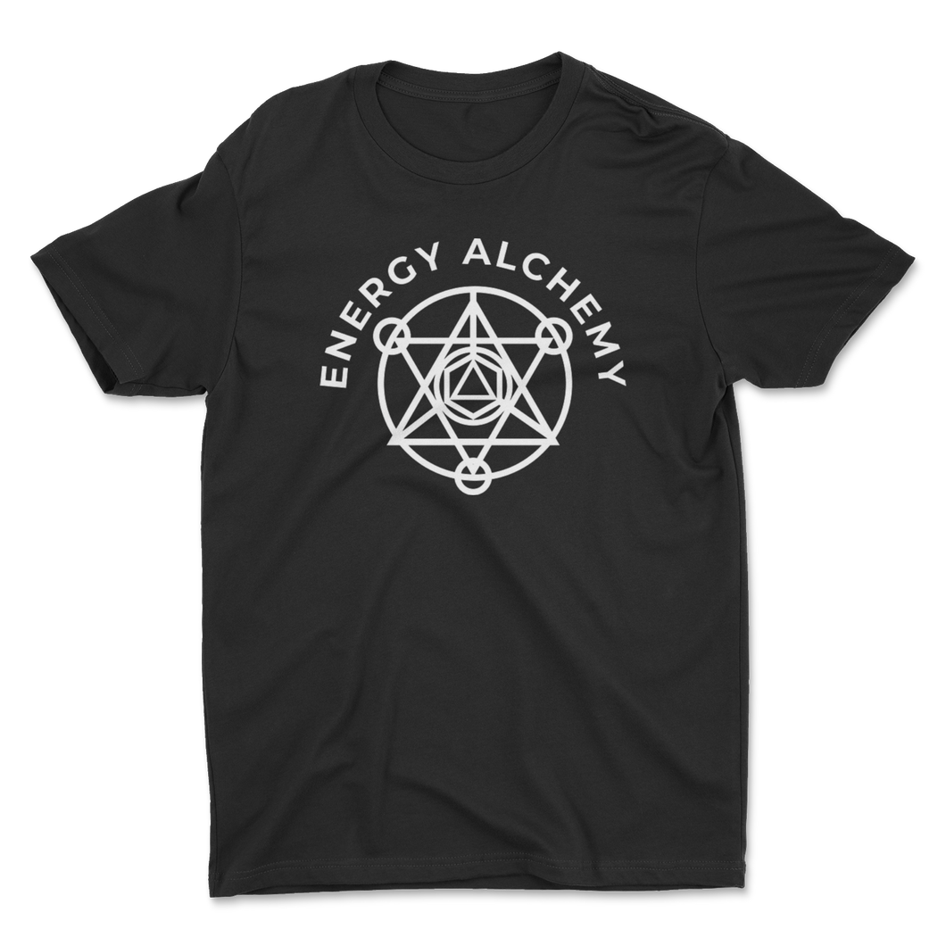 Energy Alchemy Sacred Geometry Logo - Black