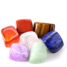 Load image into Gallery viewer, 7 Chakra Crystals Set