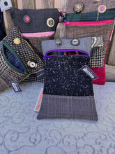 Load image into Gallery viewer, Recycled Tweed Monster Purse | VERNON