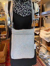 Load image into Gallery viewer, Recycled Jacket Bag Tall Messenger | HELENE