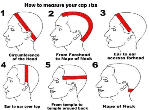 How to size your head for a Custom wig
