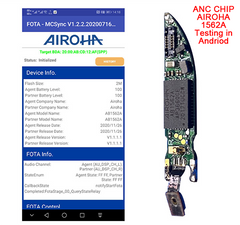 Airoha 1562A testing in Andriod