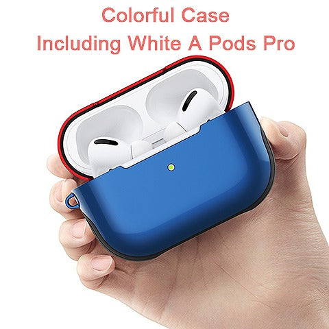 Cool Colorful Airpods Pro Case with A Pods including Black
