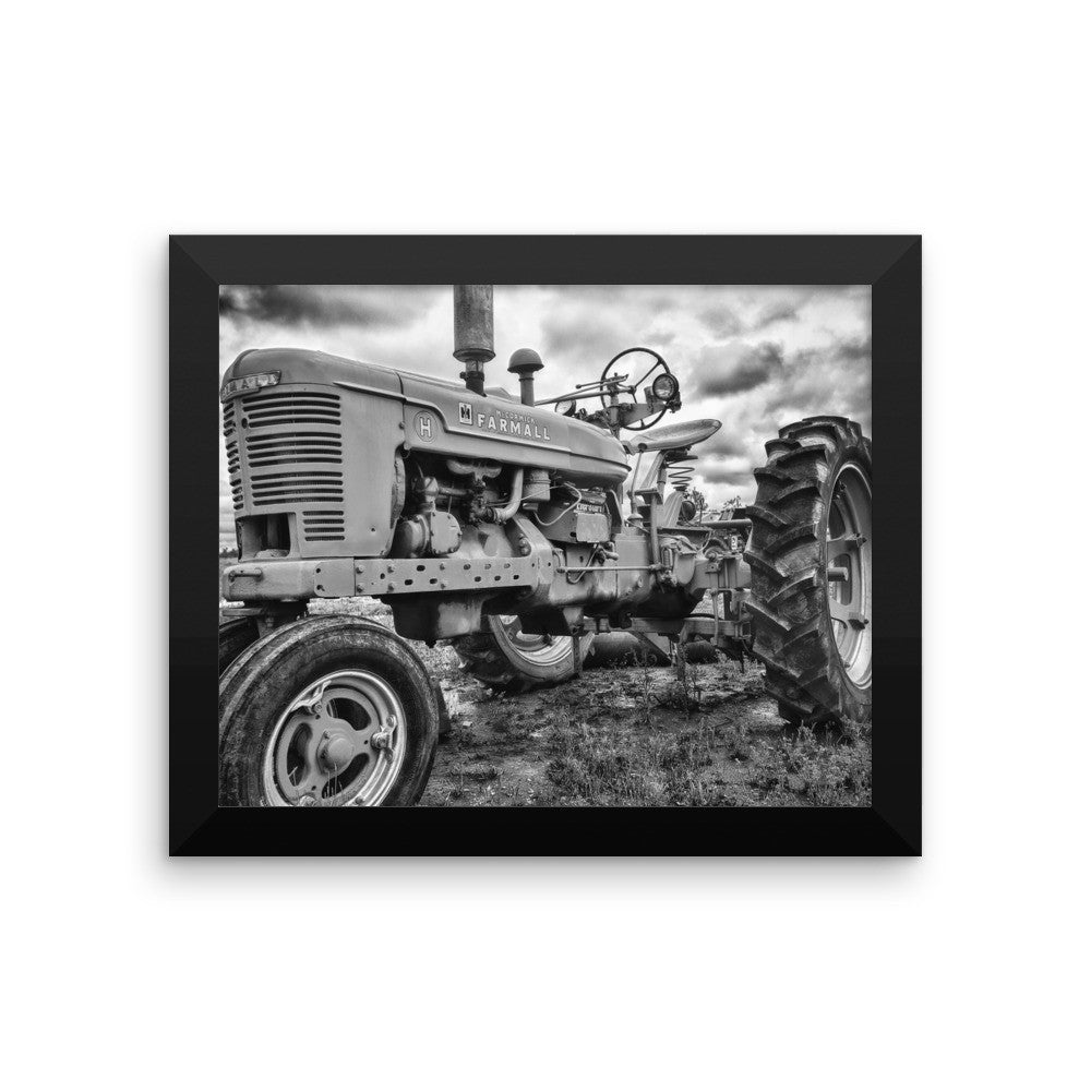 Tractor Wall Art Print