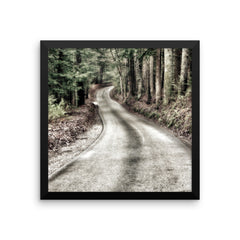 That Road Framed Poster