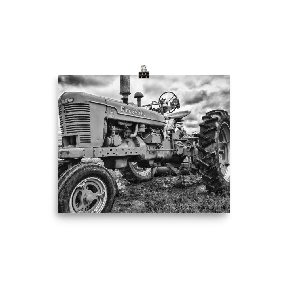 Farmhouse Tractor Art Prints