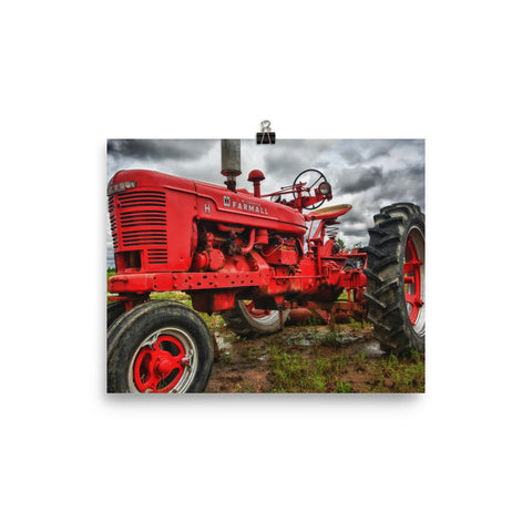 Big Red Unframed Poster