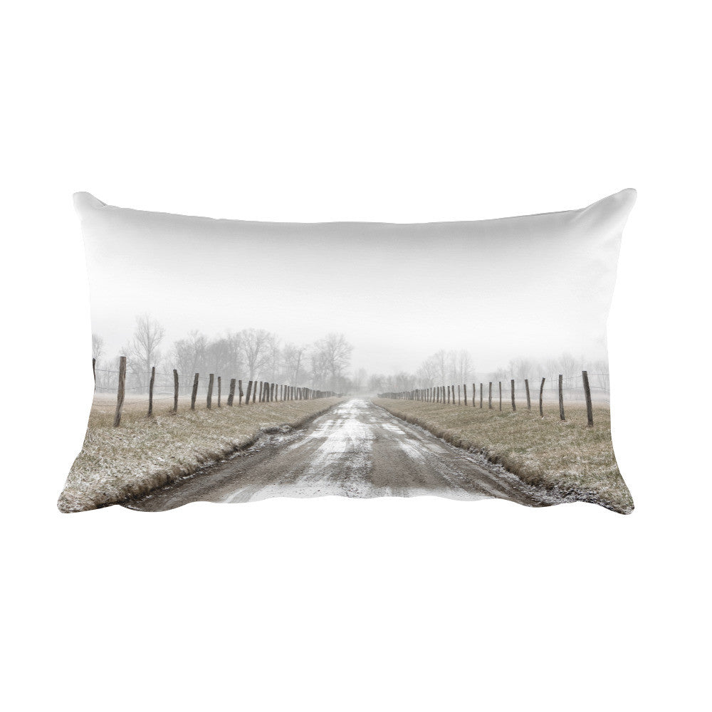 Free My Soul Country Road Decorative Pillow