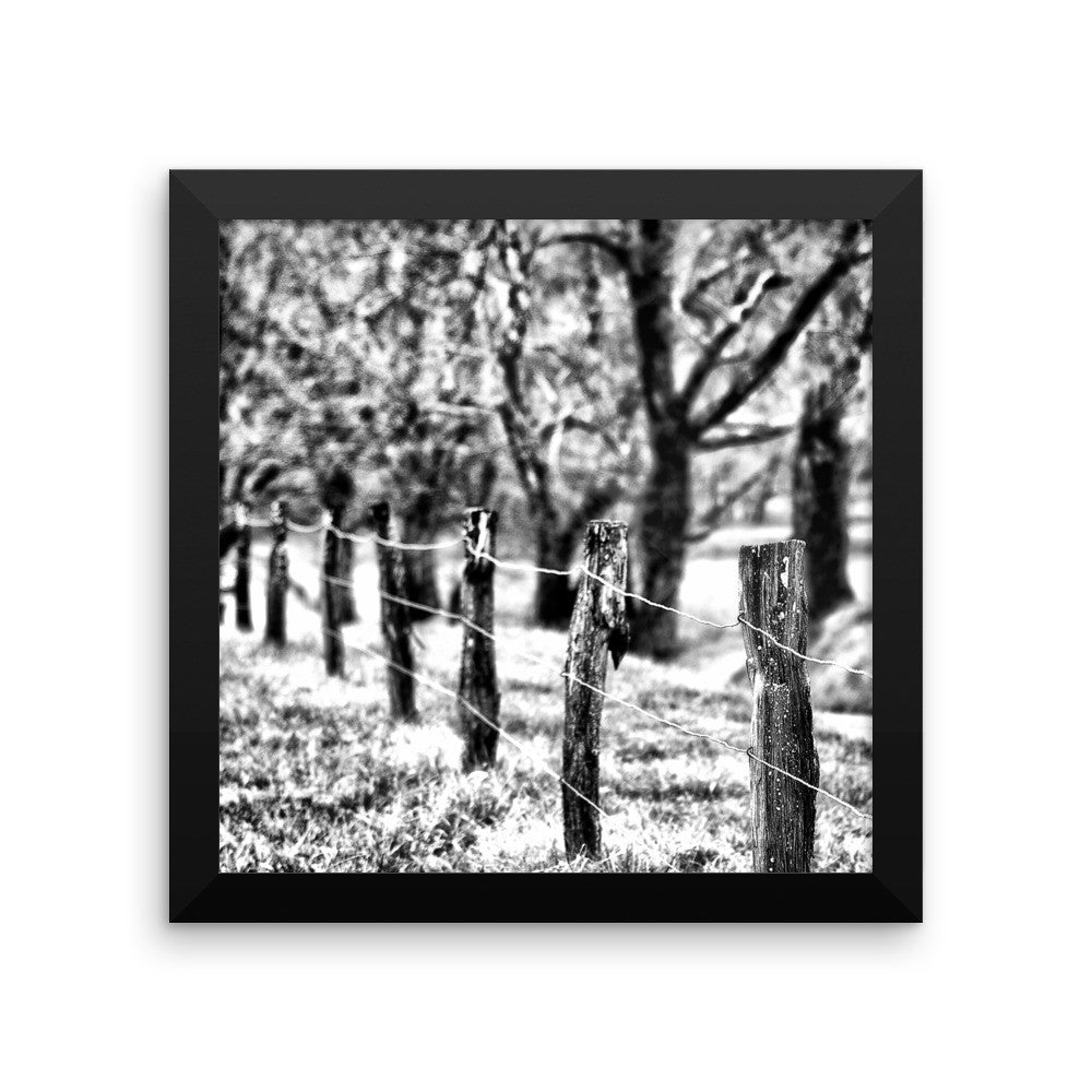 Because You're Mine Framed Black and White Poster