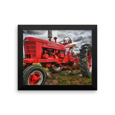 Big Red Framed Poster