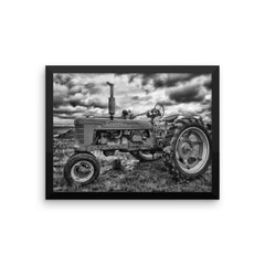 Tough as Nails Framed Black and White Poster