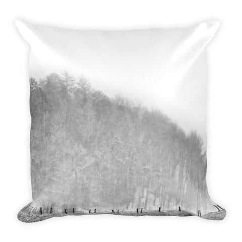 Guided Path Square Throw Pillow