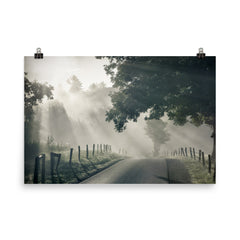 Misty Unframed Poster