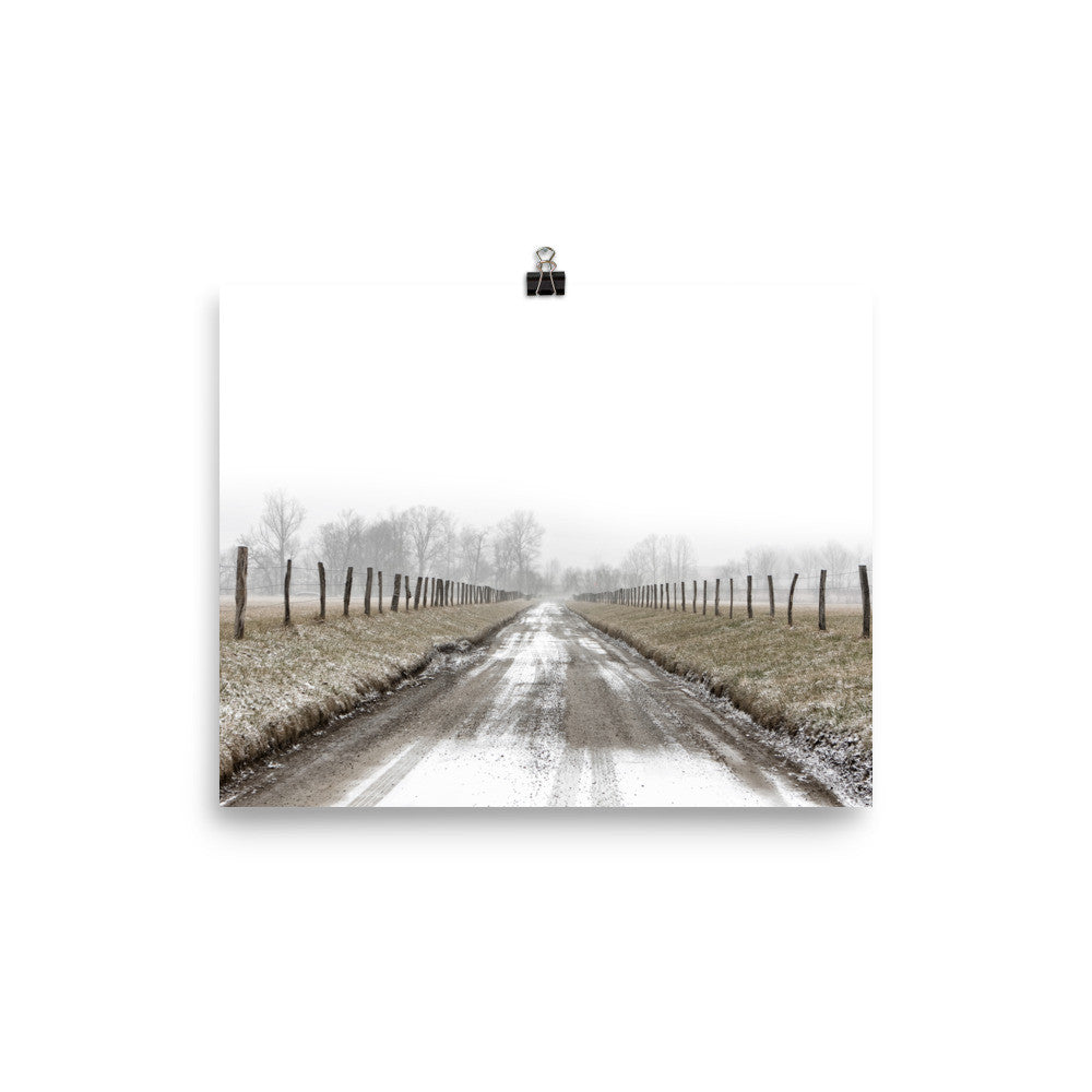 Rustic Dirt Road Art Print