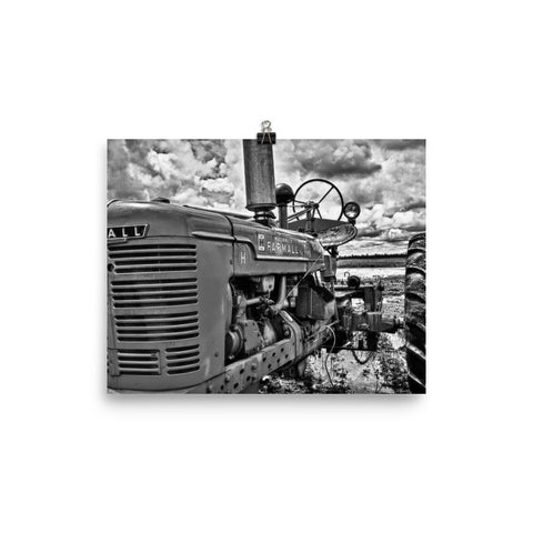 Harvest Unframed Black and White Poster