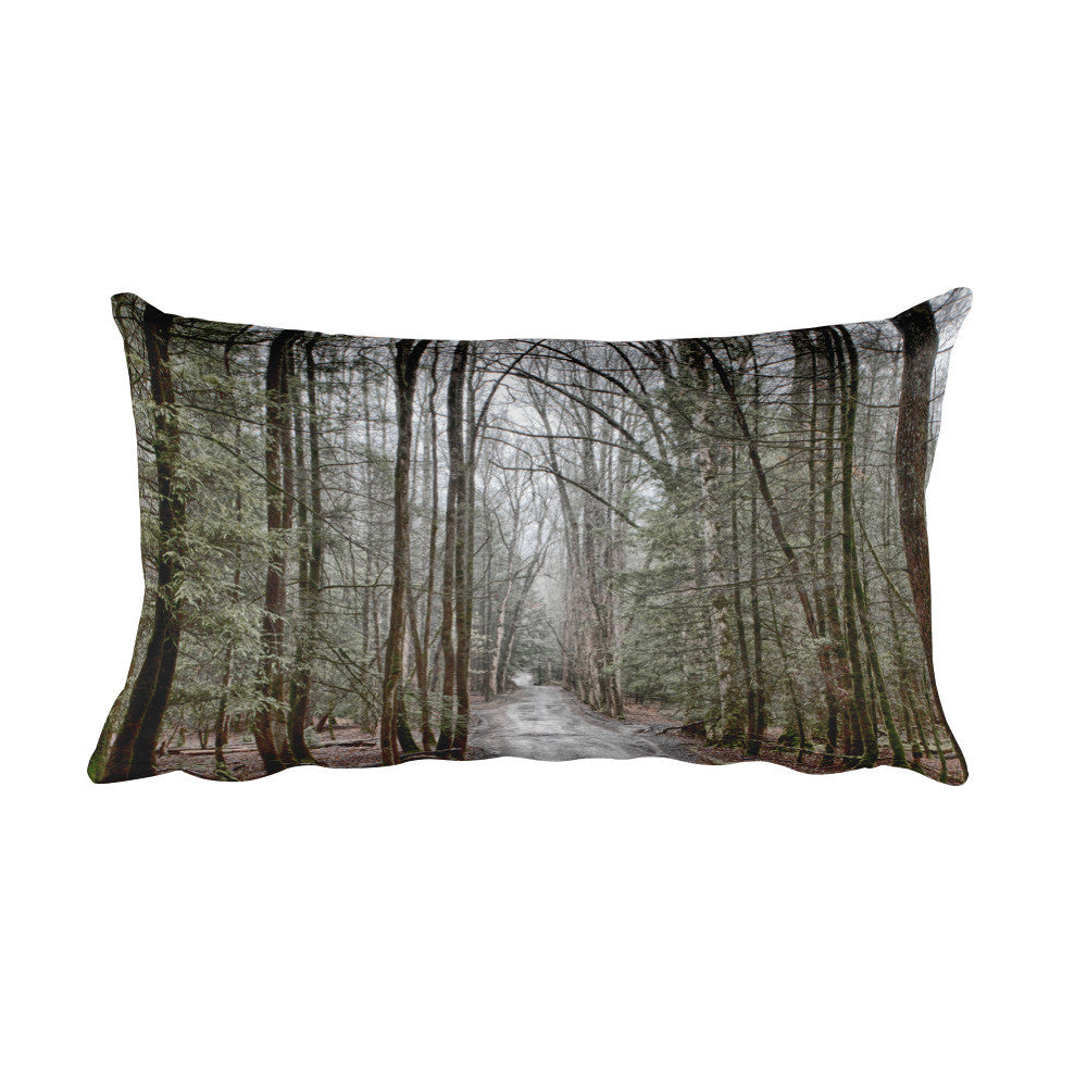 Mystical Forest Decorative Pillow