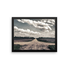 Crossroads Framed Poster
