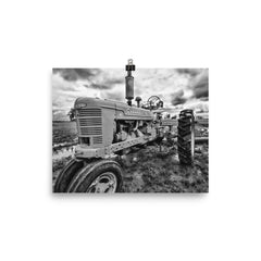 Rustic Tractor Art Prints