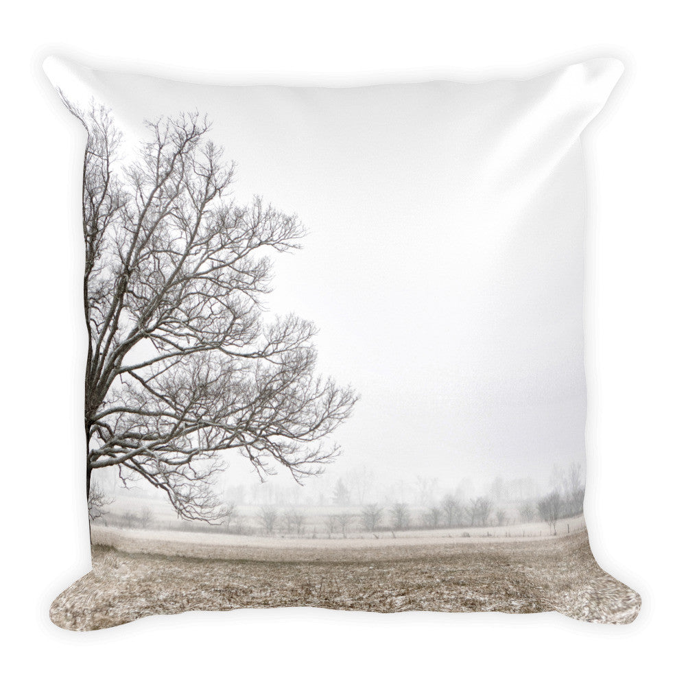 Frozen Tree Decorative Pillow