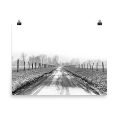 Free My Soul Unframed Black and White Poster