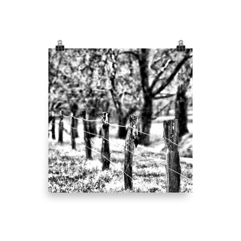 Because You're Mine Unframed Black and White Poster