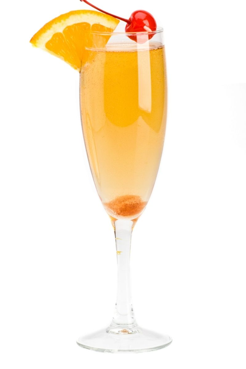 champagne screw cocktail