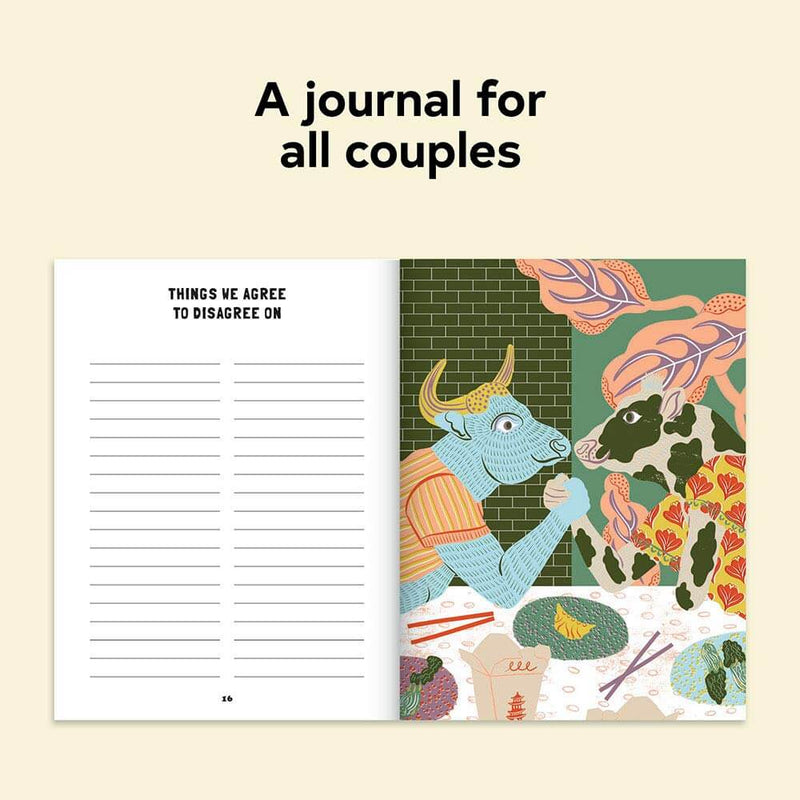 Date Night In: A Journal For Couples page 2