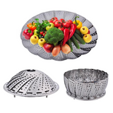 Silicone Steaming Food Basket