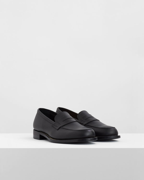 Coin Loafers – Black