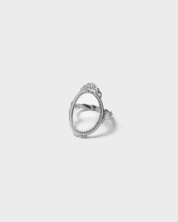 Silver Mirror Ring