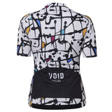 Void Abstract Jersey Women White