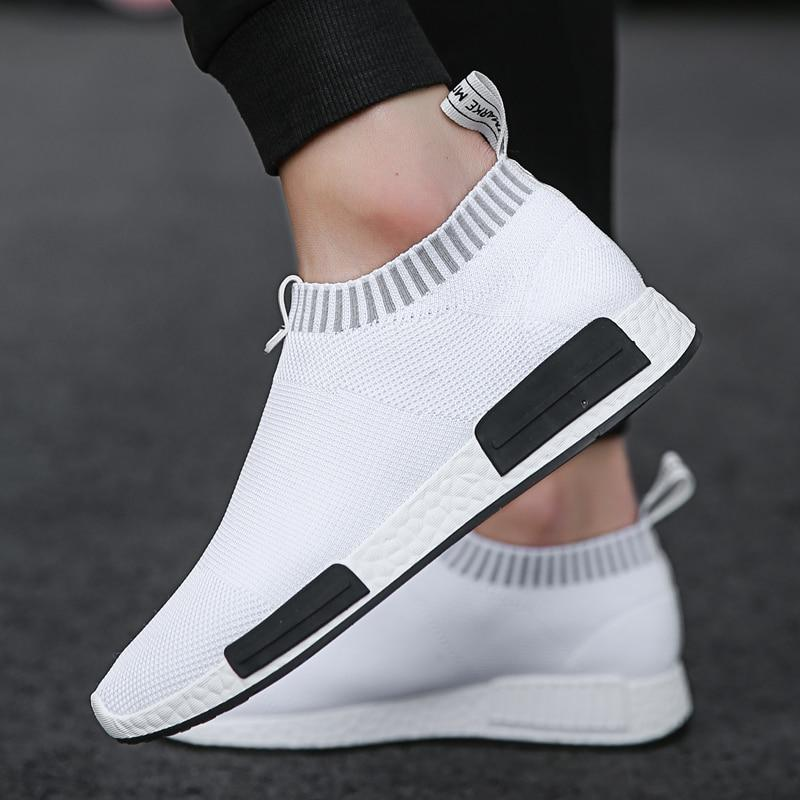 Fashion Non Leather Slip on Men Shoes