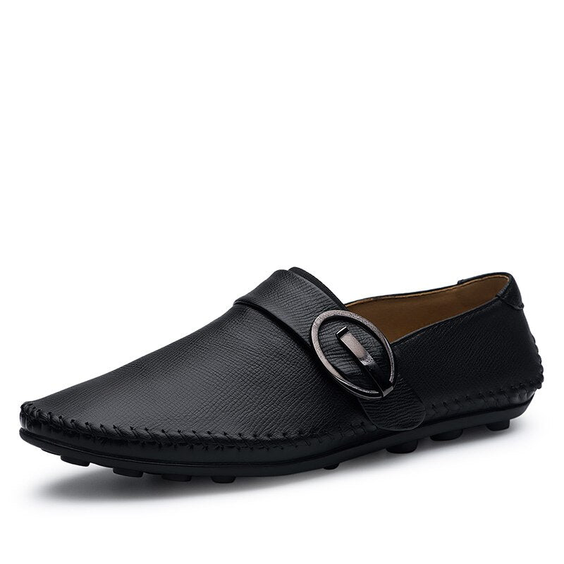 Handmade Soft Slip On Men Loafers