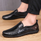 Casual Leather Men Moccasins