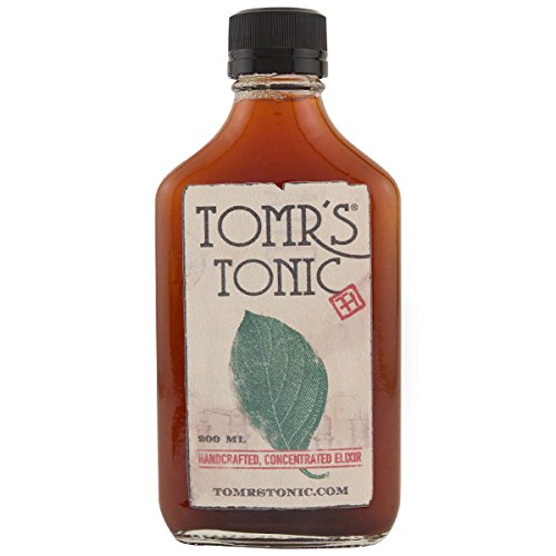 Tomrs Tonic syrup concentrate in a 200ml bottle
