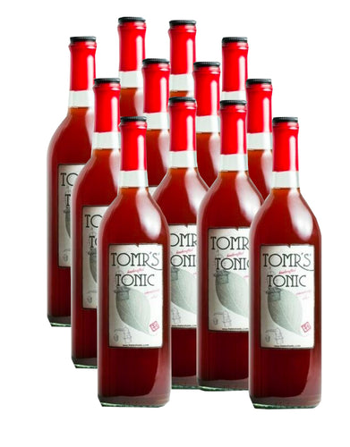 12-PACK of Tomrs Tonic syrup concentrate in a 200ml bottle