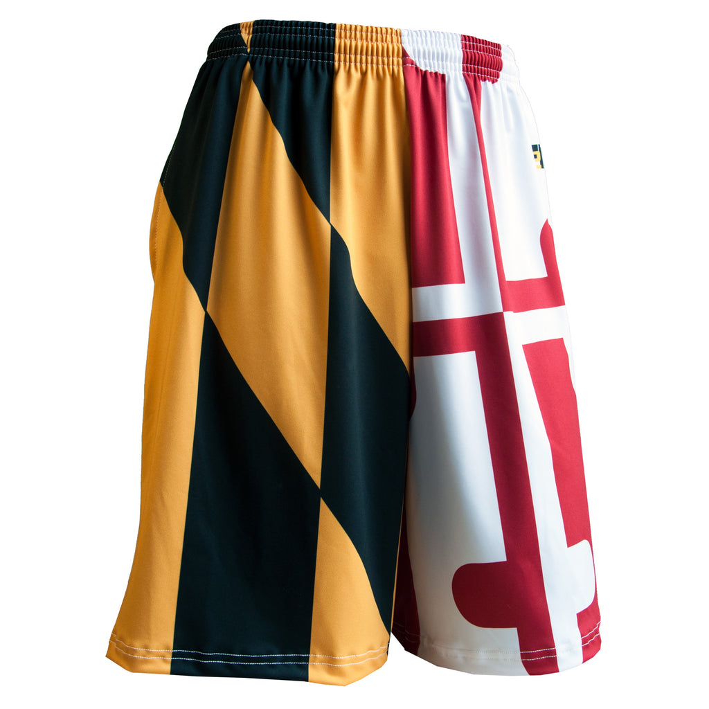 Fit 2 Win Maryland Flag Shorts