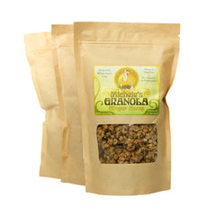 Michele's Ginger Hemp Granola 12 Ounces, Pack of 3