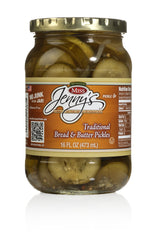 Miss Jenny's Pickles Traditional Bread & Butter 6 Pack