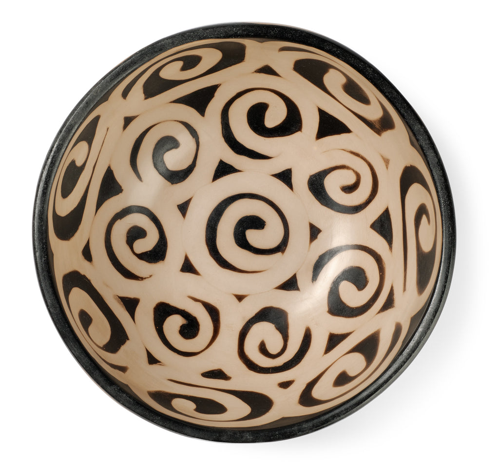 Chulucanas Spiral Bowl from Peru by Partners For Just Trade