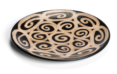 Chulucanas Spiral Plate from Peru by Partners For Just Trade