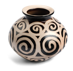 Chulucanas Spiral Jar from Peru by Partners For Just Trade
